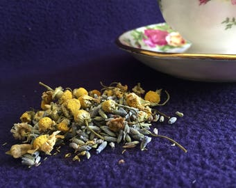 Organic Herbal Lavender and Chamomile Tea Bags