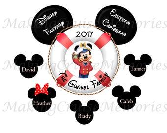 Disney Cruise Door Magnet