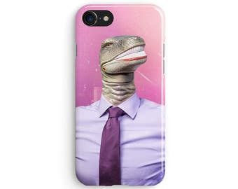 Dinosaur office - iPhone X case, iPhone 8 case, Samsung Galaxy S8 case, iPhone 6, iPhone 7 plus, iPhone SE 1M165