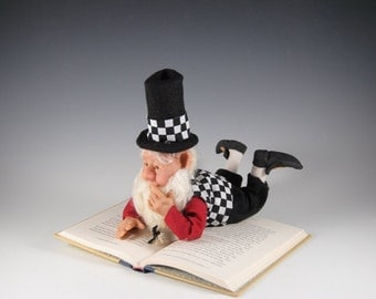 "Elf/Elf Doll/Fantasy Doll/Fairy Doll/ ""Cory Loves to Read"""