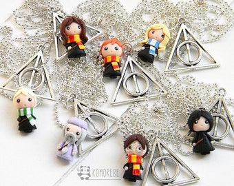 Harry Potter & Deathly Hallows Character Inspired, necklace, Necklace