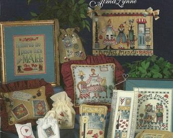 Alma Lynne: Cat Cafe Cross Stitch Booklet
