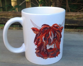 Hamish the coo mug
