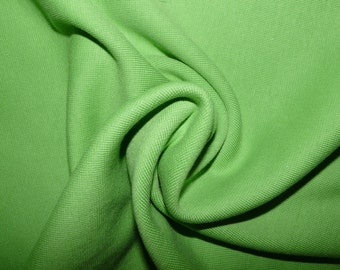 Fabric - Cotton/elastane rib fabric -500gsm - Bright green