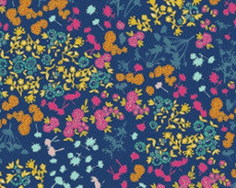 Fabric - Art Gallery -  Abloom Fusion Floret Stains Abloom  - cotton print.