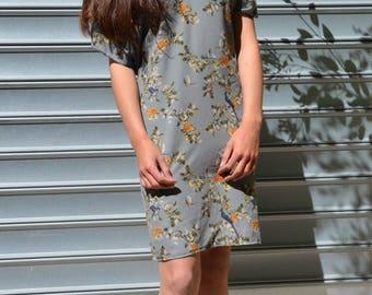 New summer collection kimono dress Japanese crepe Zania of luck