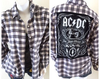 ACDC Flannel Shirt