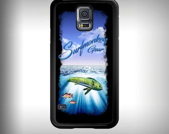 Samsung Galaxy S5 phone case with Full color custom graphics - Mahi and Ocean