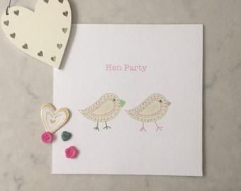 Hen Party Card *blank inside*