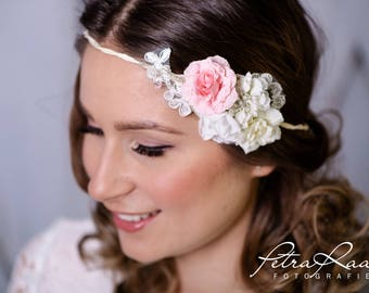 Flower wreath wedding hair accessories flower girl hair flower wedding flower wreath headband wedding boho A13