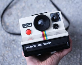 Polaroid 1000 - OneStep - Vintage Instant Camera - Working condition with original case