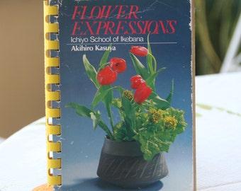 Flower Expressions: Ichiyo School of Ikebana Plastic Comb – June, 1986 by Akihiro Kasuya