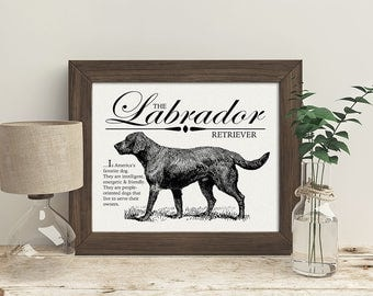 Vintage Dog Breed Prints
