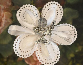 First Holy Communion Confetti Flower almond favor Bomboniere with Wheat and Chalice