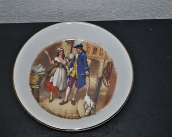 "Cries of London ""Who'll buy my lavender?"" Small Decorative plate (E52)"