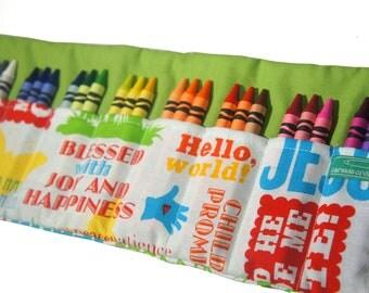 Back To School, Crayon Coloring Case