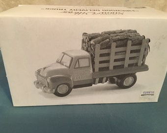 Department 56 Firewood Delivery Truck