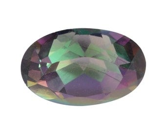 Mystic Northern Lights Topaz Oval Cut Loose Gemstone 1A Quality 10x8mm TGW 2.50 cts.