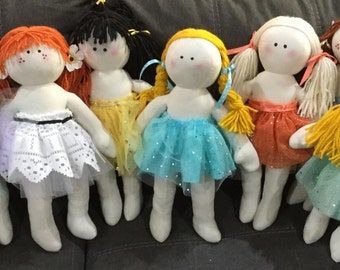Customized Muslin Dolls