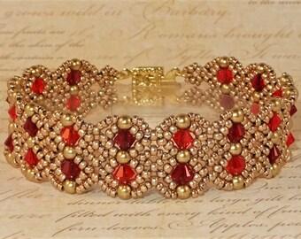DIGITAL TUTORIAL - Annabelle's Lace Bracelet Tutorial