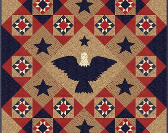 Sew American Quilt Kit-Proud & Strong by Moda