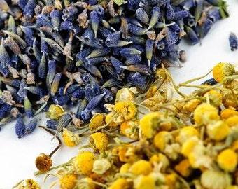 Lavender and German Chamomile Petal Confetti,  One pound.  Wedding Flower Toss.  Make sachets or fragrant bath tea)