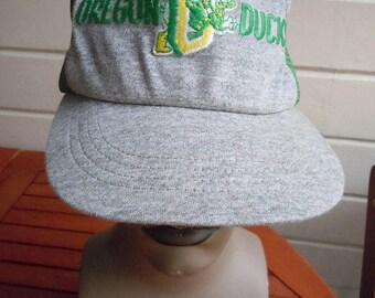 Great 1970s-80s Oregon Ducks Hat (Adjustable Size)