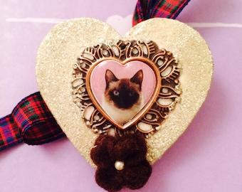 Purrfect Cat Brooch