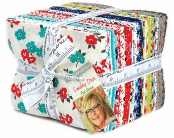 Sunday Drive Prints by Pat Sloan for Moda Fat Quarter Bundle 29 FQ 43070ab