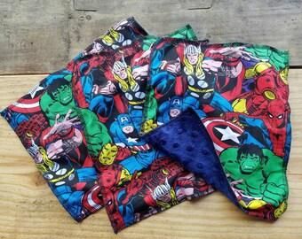 Marvel comics washcloth set