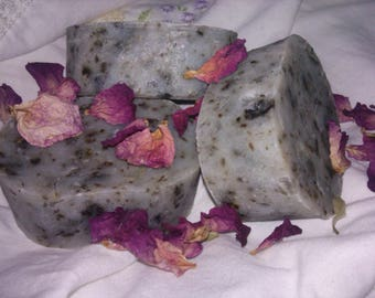 Organic Coconut with Rose Soap