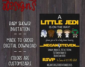 Star Wars Baby Shower Invitation