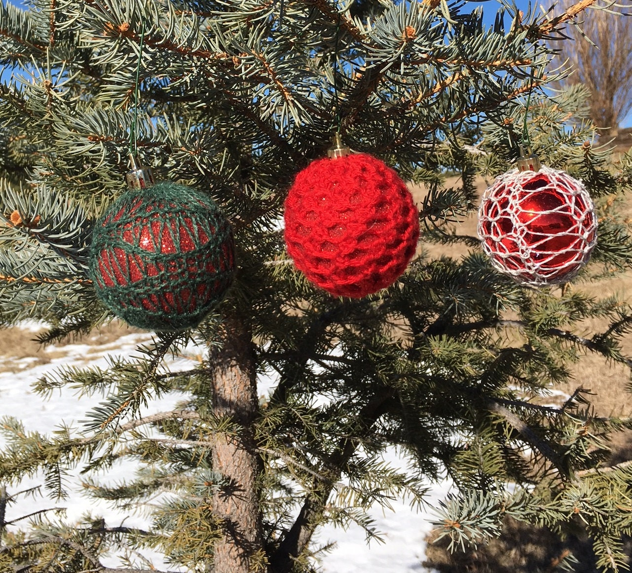 Loom Knit Christmas Ornaments Part - 38: Original Patterns For The Knitting Loom By DaynaScolesDesigns