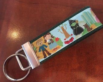 Wizard of Oz Mini Keychain/Key Fob