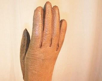 Woman's Pigskin Gloves