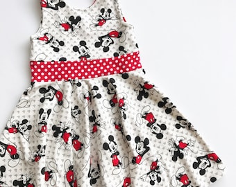 Classic Mickey twirly dress