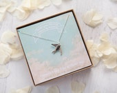Will you be my Bridesmaid Swallow Necklace