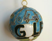 Golf Icons Cloisonne Ornament | Great Golf Gift Item