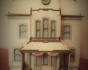 Wooden Model Bates House from the film Psycho