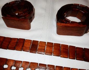 Wooden Kenyan Belts