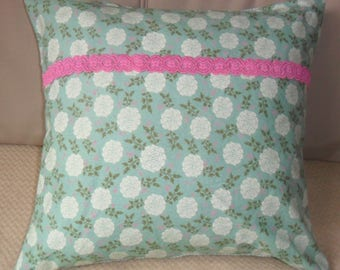 Handsewn Shabby Chic Cushion/Pillow cover