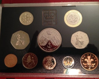 Coin Collection - Proof Set - United Kingdom - 1997