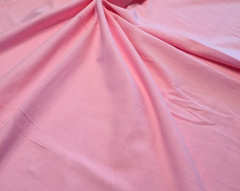 7a47ffed37a PINK 95/5 Cotton Lycra Spandex Jersey, 4 way stretch, Apparel Knit Fabric  10oz Weight BTY By The Yard