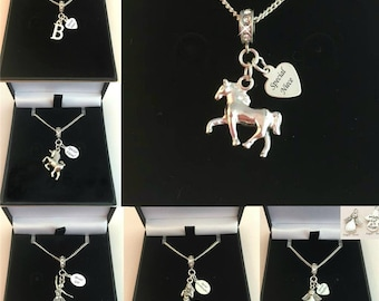 Personalised Necklaces for Girls with Any Engraving for Sister, Daughter, Friend etc