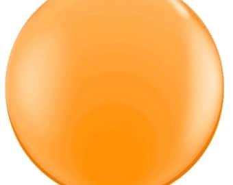 "36"" balloon- Jewel Mandarin Orange"