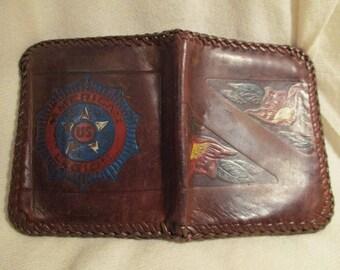 Vintage US American Legion leather wallet