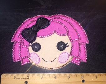Blinged ready to ship: Lala loopsy large patch