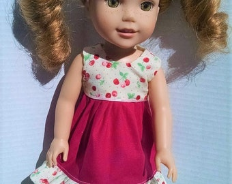 Dress that will fit a 14.5 size doll like the Wellie Wisher