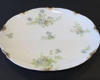 Salad Plate (Large): These Haviland Limoges Schleiger No. 52H