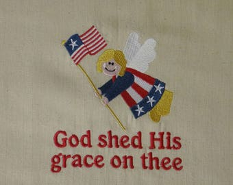 God shed His grace on thee Towel